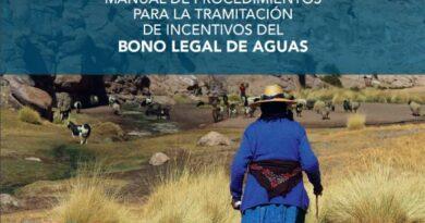 INDAP y DGA Manual de Procedimientos para la Tramitación de Incentivos del Bono Legal de Aguas (BLA)