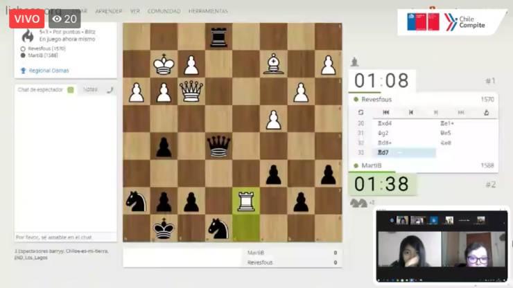 Campeonato Online de Ajedrez