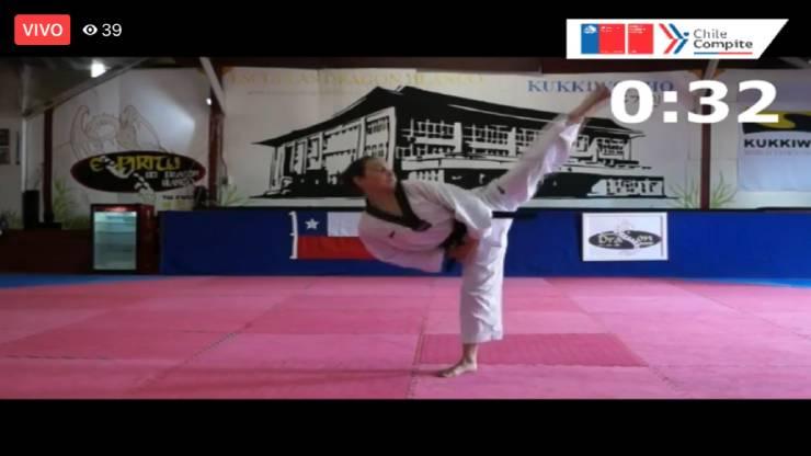 Deportistas destacaron en el Campeonato Regional Escolar Online de Taekwondo Mindep IND