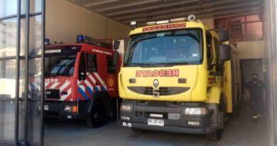 Finalizaron obras del mejoramiento del cuartel general de Bomberos de Osorno