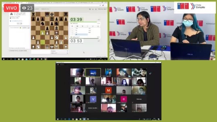 Campeonato regional online escolar de ajedrez