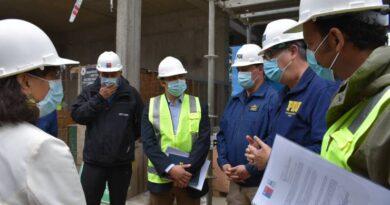 Consejeros Regionales constataron estado de avance del nuevo edificio para la Pdi de Osorno