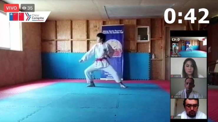 Segundo Campeonato Regional Escolar de Karate Online.