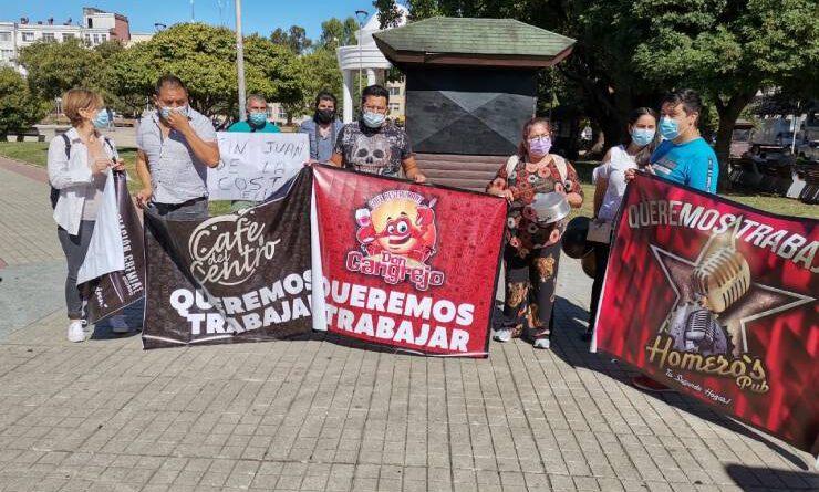 Cámara de Comercio Osorno participó junto a gremios en manifestación por extensión de cuarentena