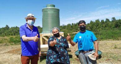 En pleno desarrollo proyecto de abastecimiento de agua en Monteverde San Juan de la Costa.