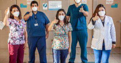 Equipo de infectólogos que participó del estudio de vacunas en la provincia de Osorno