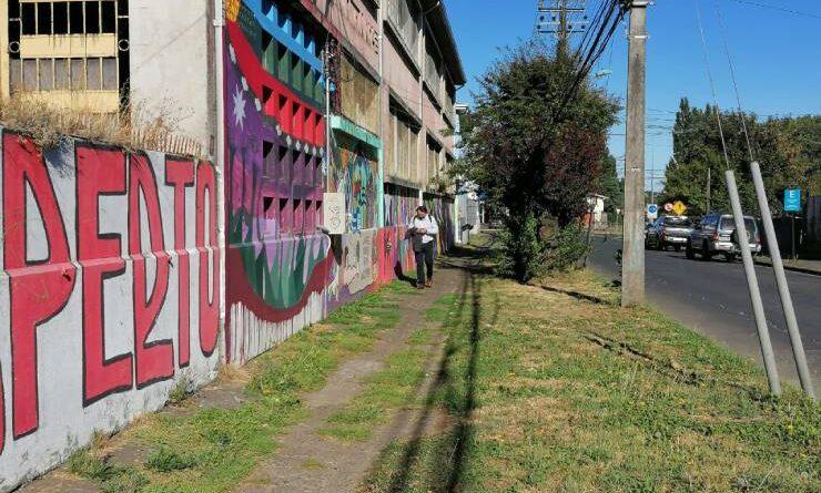 Reposición de veredas en Osorno