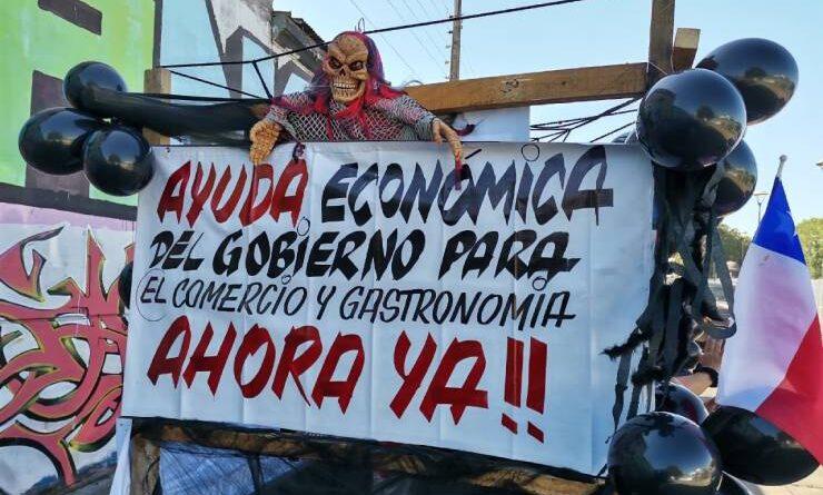 Cores se reúnen con la Agrupación de Emprendedores Unidos de Osorno afectados por la crisis económica y sanitaria