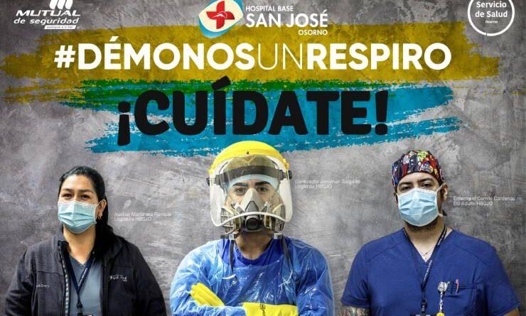 Hospital de Osorno intensifica Campaña de Salud sobre los efectos del COVID19 en la Provincia