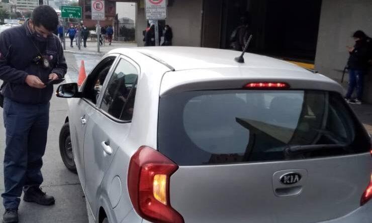 Inspectores de fiscalización refuerzan los controles a transporte informal en Puerto Montt