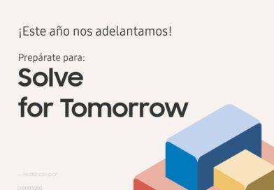 Concurso internacional Solve For Tomorrow