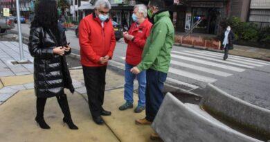 Intendente Geisse visitó importantes obras en la capital de la provincia de Chiloé.