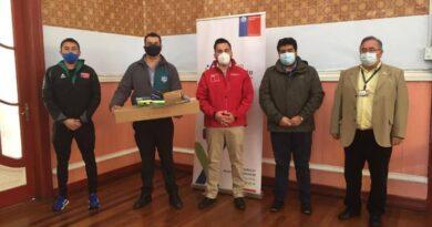 """Mindep IND entregó implementación deportiva para los talleres del programa """"Crecer en Movimiento"""" en Osorno."""