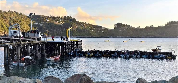 Capacitaciones Pescadores en Bahía Mansa, San Juan de la Costa