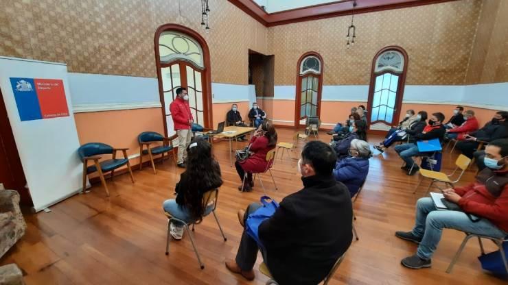Colodep de Osorno realiza reunión para aclarar dudas con relación al retorno al deporte y la actividad física.