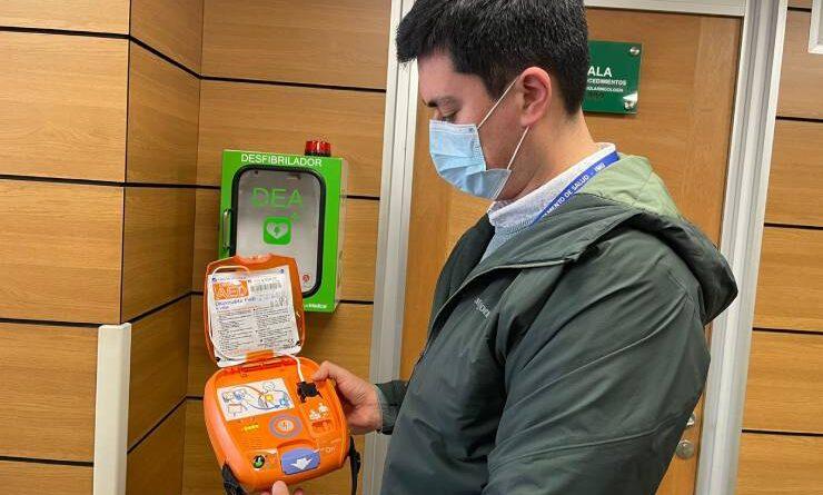 Desde el 1 de septiembre escuelas y liceos de Osorno contarán con desfibriladores cardíacos.