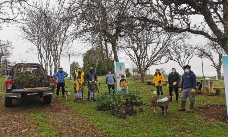 Jornada de arborización en Purranque