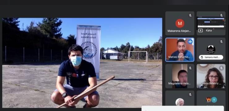 Mindep IND conmemoró el Día Internacional de los Pueblos Indígenas con una clase virtual de juegos mapuches