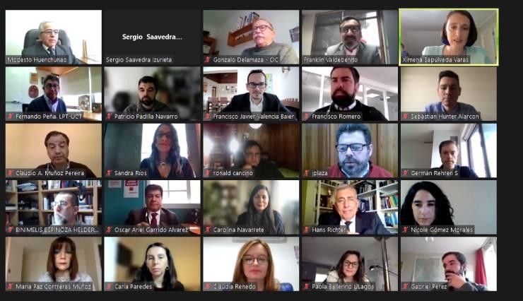 Nodo CTCi Macrozona Sur se reúne con gobernadores regionales