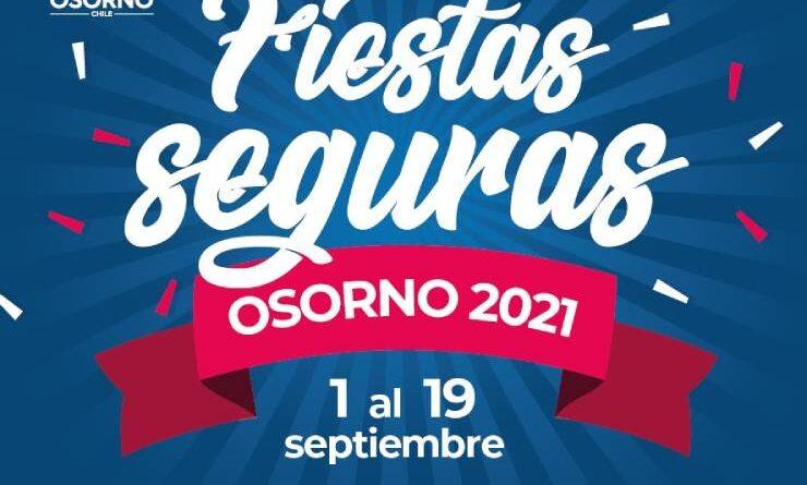 Programa Fiestas Patrias Osorno 2021