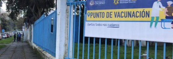 A contar de la próxima semana menores de 11 años podrán recibir vacuna contra el covid-19 en Osorno.
