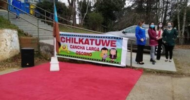 Escuela rural de Cancha Larga suspende clases tras detectarse dos casos positivos de Covid.