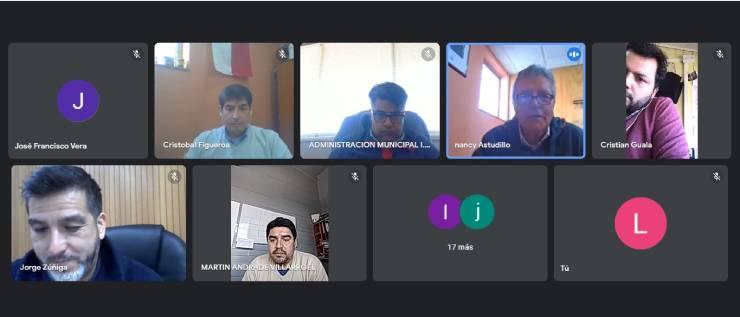 Mindep IND Los Lagos se reúne de manera virtual con los encargados de deportes de la región