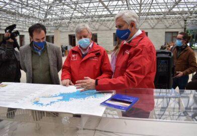 Sernageomin da a conocer mapa sobre Hidrogeología de la Cuenca del río Maullín.